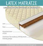 Latex Matratze für Babybett